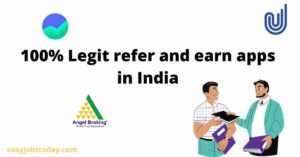 Read more about the article 100% legit refer and earn apps in India | Earn unlimited referral income